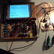 STM32 DevCard converted to an inductance meter